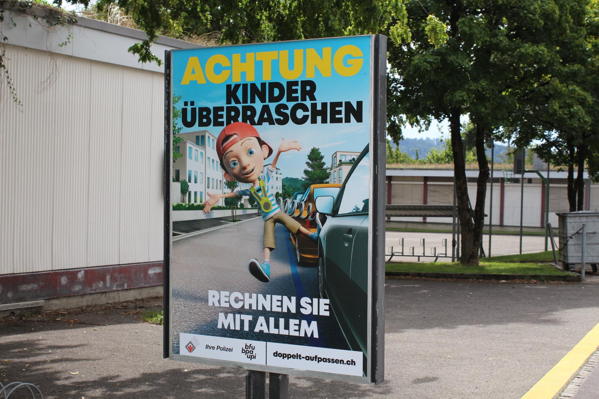 Ferienende und Schulstart in Winterthur