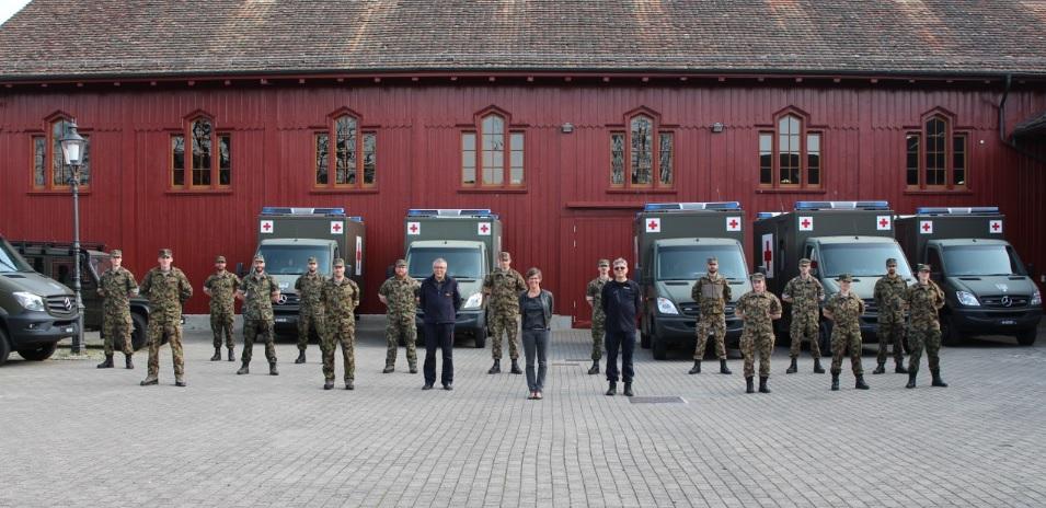 Winterthur dankt dem Militär