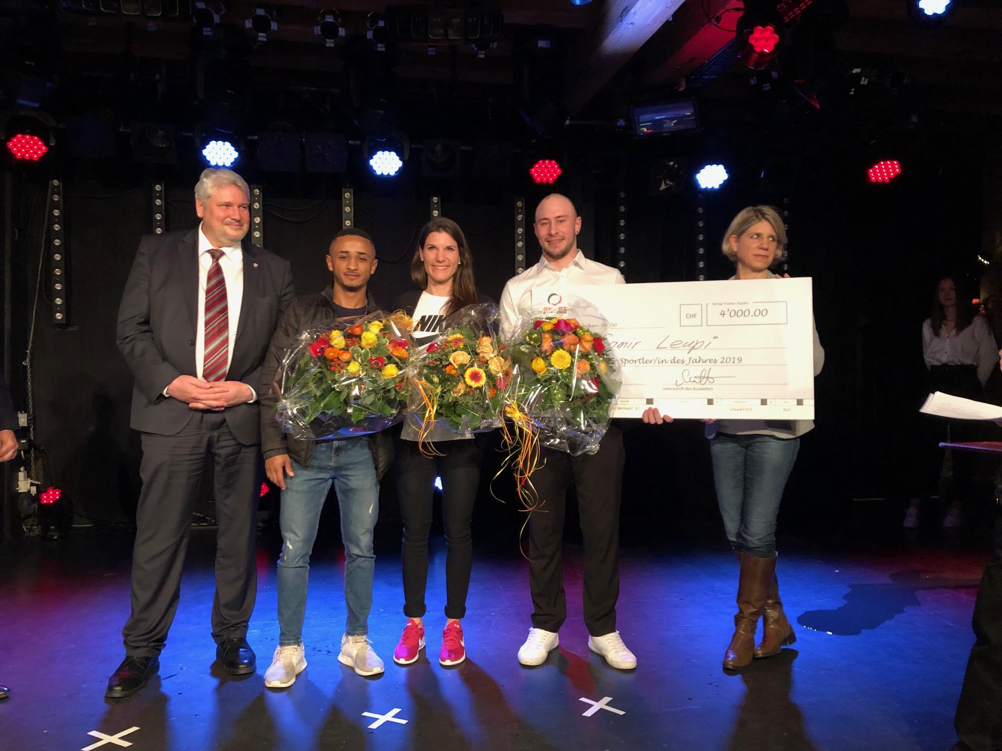 Samir Leuppi ist Winterthurer Sportler des Jahres