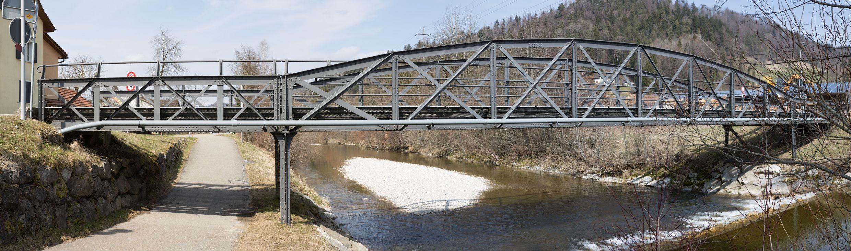 """""""einst und jetzt"""": Tössbrücken und Bewässerungs - Systeme"""