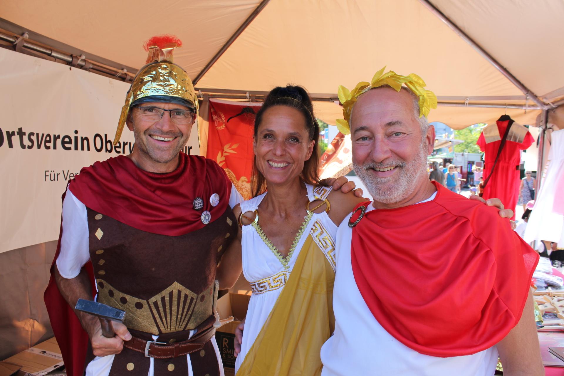 Oberi auch in Zukunft mit Römerfest