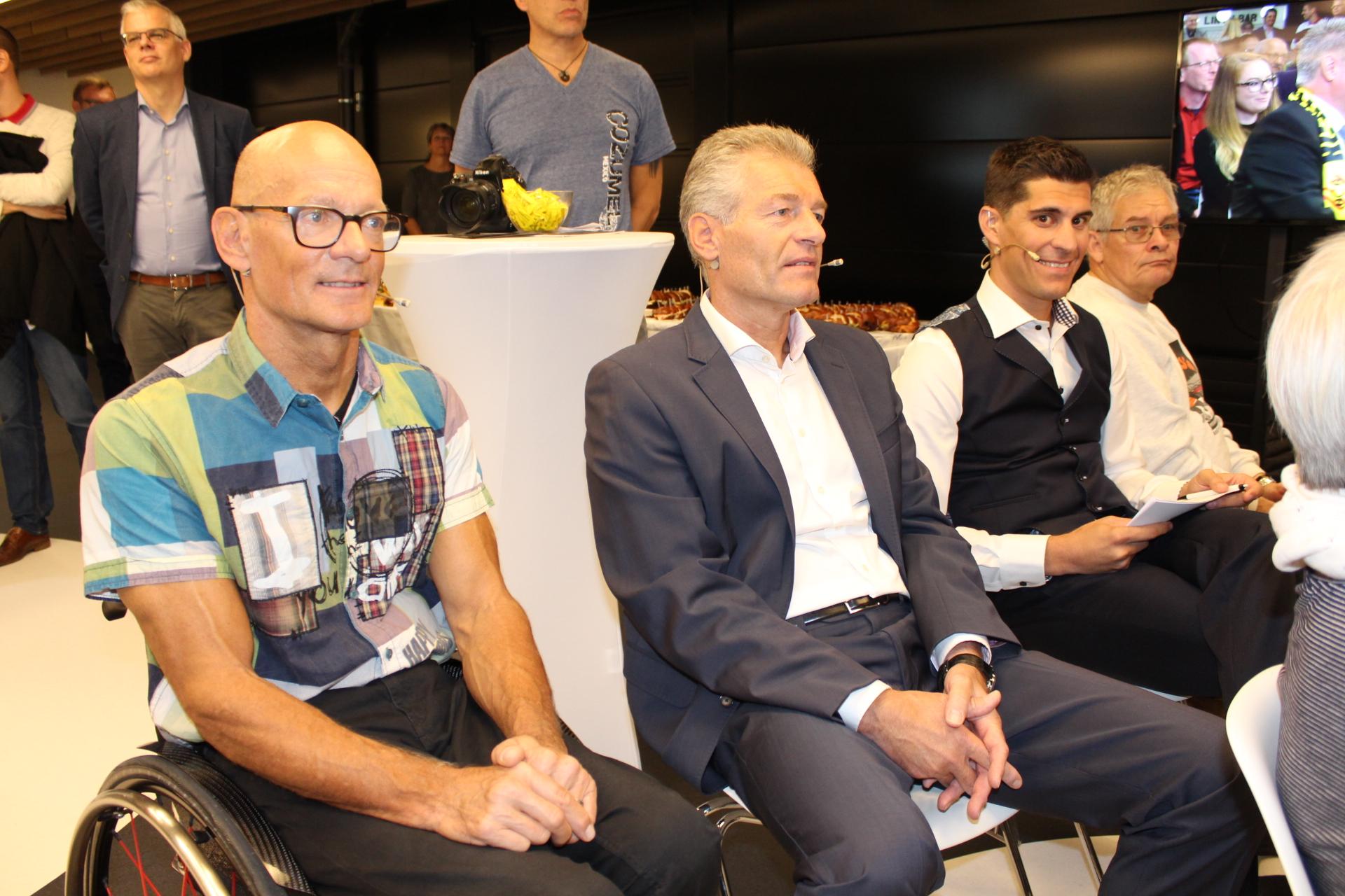 Tele Top: Sportdate TV mit Heinz Karrer und Heinz Frei