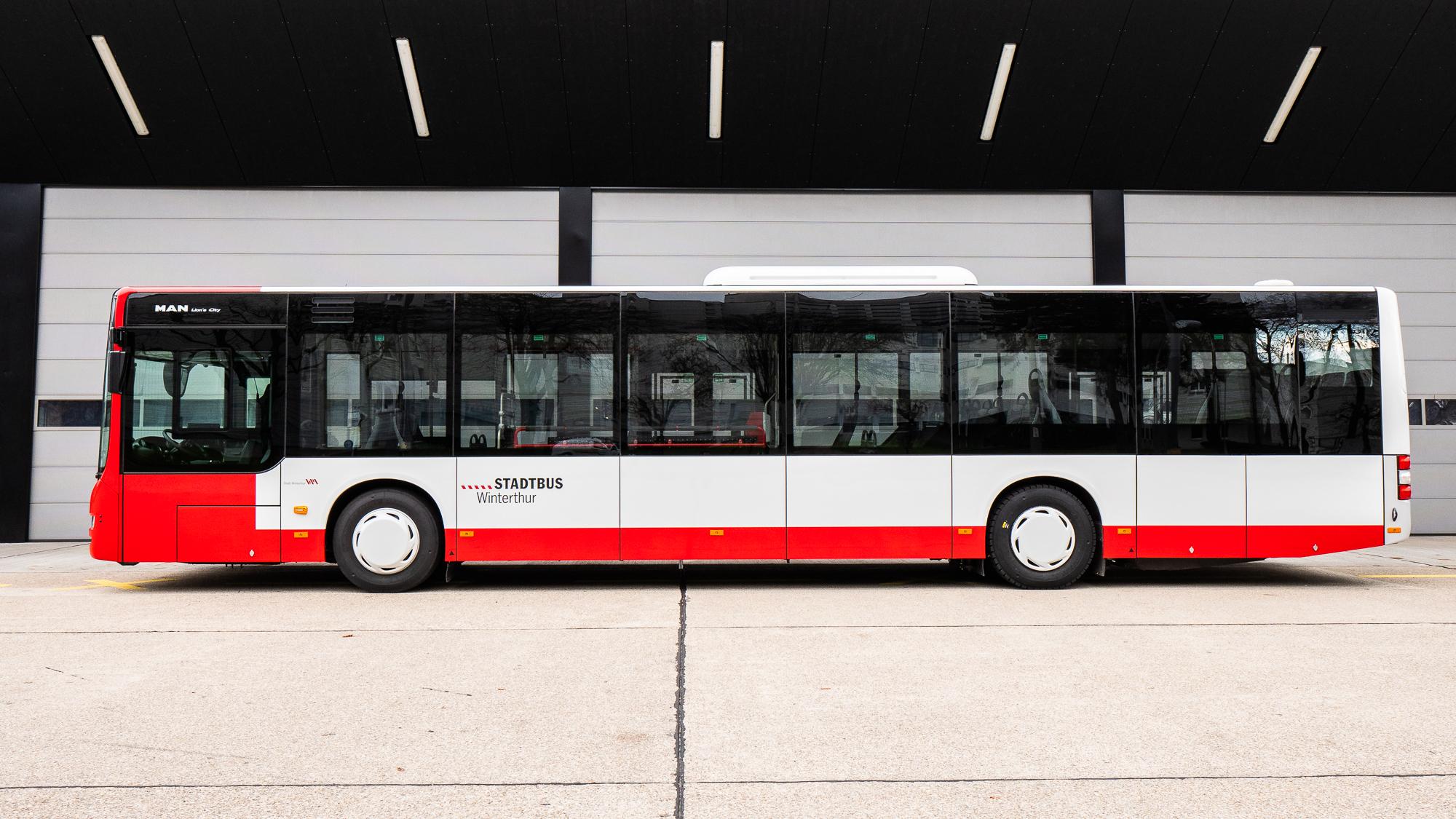 Neuer Stadtbus: Neues Erscheinungsbild