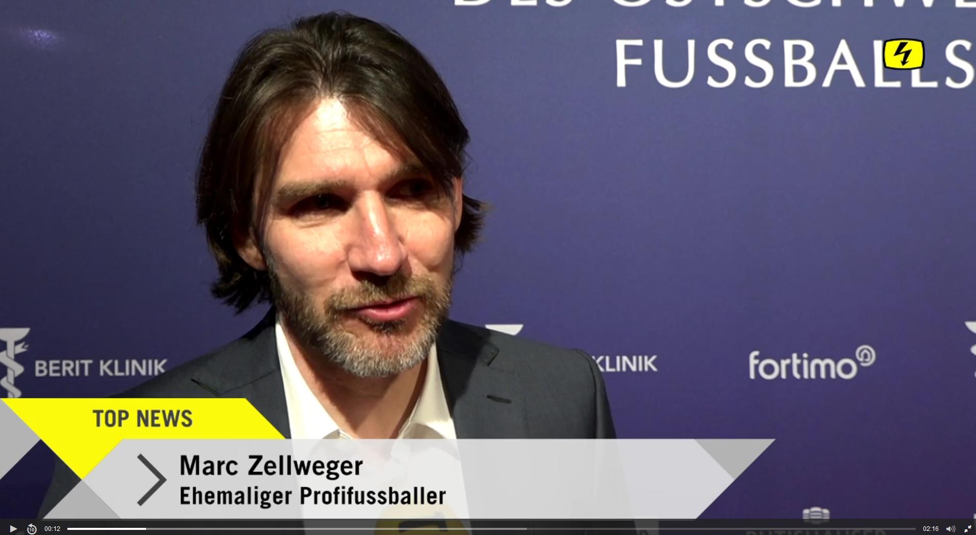 Legenden-Award für Marc Zellweger
