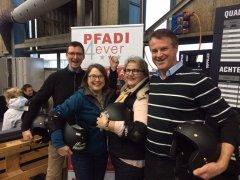 "Fotostrecke: Spass beim Chopfab-Race für ""Pfadi4Ever"""